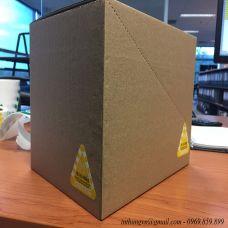 Thùng carton, hộp carton bế răng cưa
