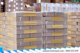 Hình ảnh về thùng carton sau khi sản xuất